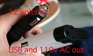 Illustration for article titled Review: Smart AC 120v/USB Inverter For the Car