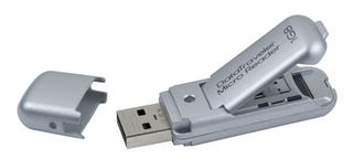 Illustration for article titled Kingston DataTraveler Micro is a USB Stick with MicroSD Card Reader