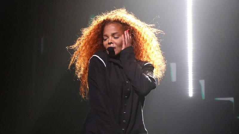 Janet Jackson performing during her Metamorphosis tour at Park MGM Las Vegas.