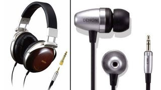 Illustration for article titled Denon Rolls Out Variety of Headphone and Earphone Choices
