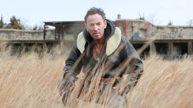 Bruce Springsteen, who is not a con man