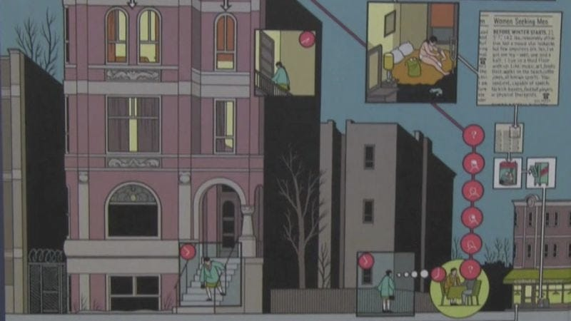 Illustration for article titled Delving into Chris Ware's massive, multilayered comics project Building Stories