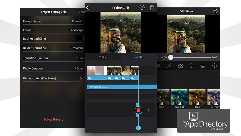 best video editing app for iphone the best editor for iphone 18316