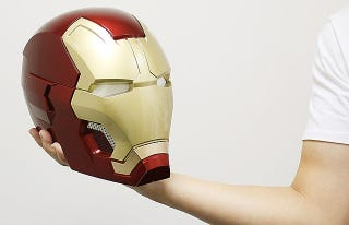 Illustration for article titled An Iron Man Bluetooth Speaker Is More Useful Than Most Collectibles