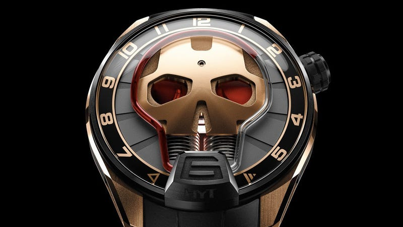 Illustration for article titled If Iron Man Wore a Watch It Would Look Exactly Like This