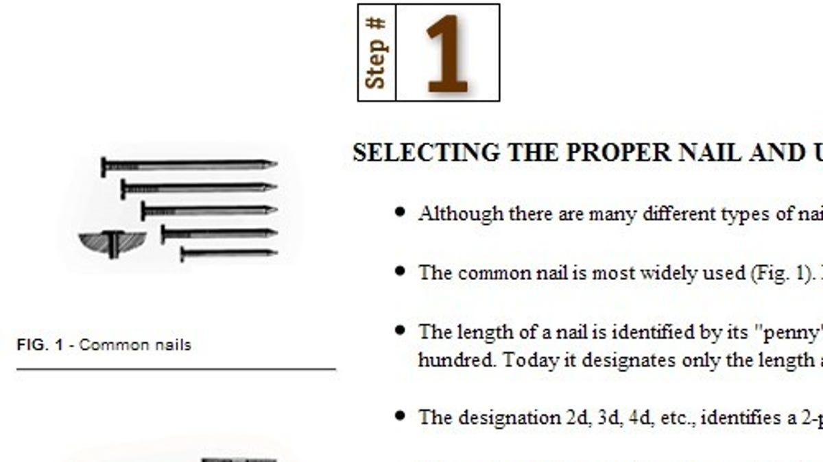 penny nail chart - Ordek.greenfixenergy.co