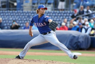 Illustration for article titled The Data Behind Yu Darvish's Brief But Devastating Debut