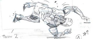 Illustration for article titled Iron Man Rolls With The Punches In Red-Hot New Storyboards And Set Video!