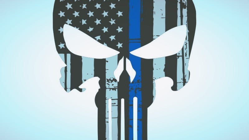 Illustration for article titled Kentucky Police Remove Punisher Logo From Cop Cars After People Rightfully Point Out He's a Murderer