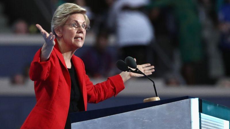 Senator and hero Elizabeth Warren (Photo: Getty Images)
