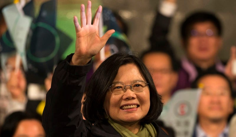 Illustration for article titled Taiwan Elects Tsai Ing-Wen As Their First Female President