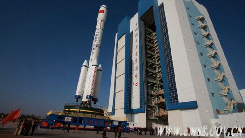 Illustration for article titled China will launch a prototype of its space station later this week