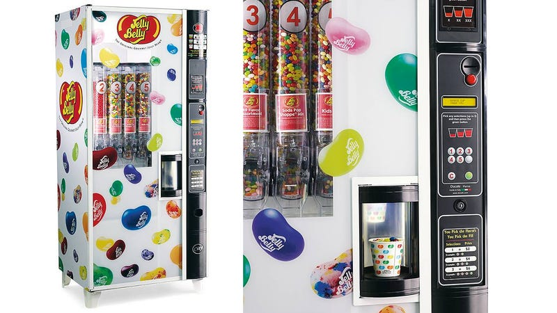 Illustration for article titled $10,000 For Your Own Private Jelly Belly Vending Machine Sounds Totally Reasonable