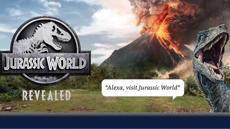 Illustration for article titled With Jurassic World Revealed, Amazon shows voice games for Alexa are no joke