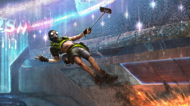 Illustration for article titled Apex Legends' New Character Is Really Fast