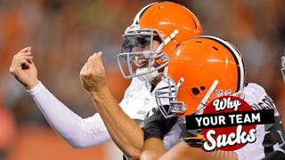 Illustration for article titled Why Your Team Sucks 2014: Cleveland Browns