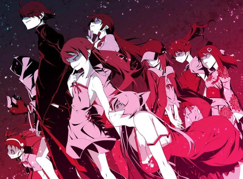 Illustration for article titled Completely Unnecessary: Recommended Viewing/Reading Order of The Monogatari Series