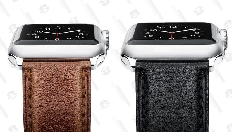 Benuo Leather Apple Watch Strap | $7 | Amazon | Promo code D2CLXXOU
