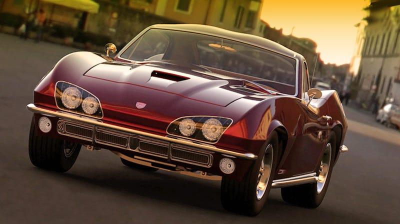 Dodge Viper Reimagined For 1967