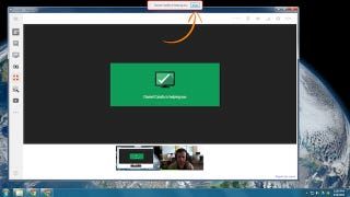 Google Hangouts Get Remote Desktops to Make Troubleshooting