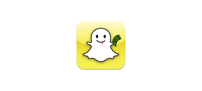 Illustration for article titled Snapchat's Thinking About Getting Into the Mobile Payment Business