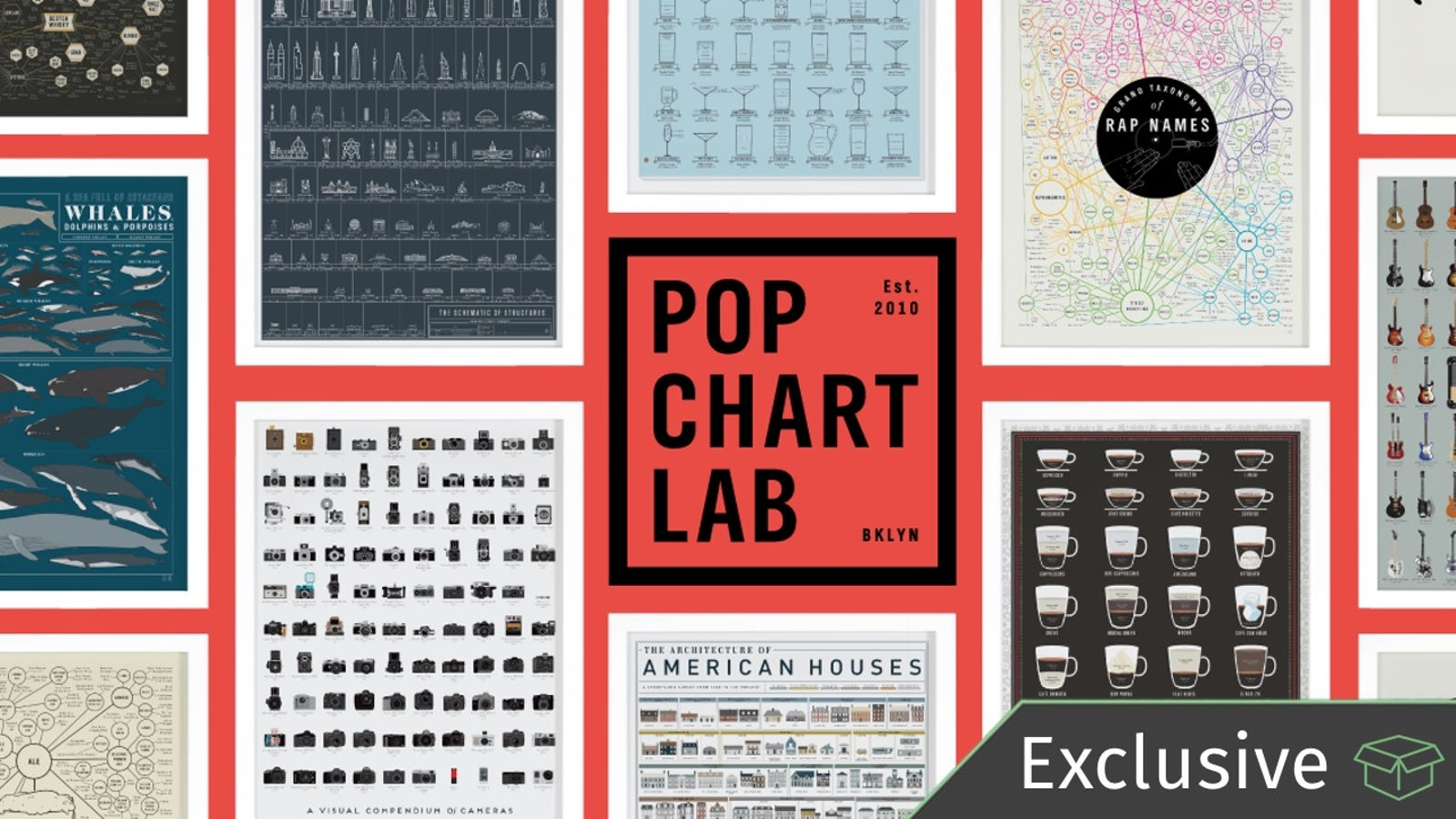 Give The Gift Of Infographics With This Sitewide From Pop Chart Lab Exclusive