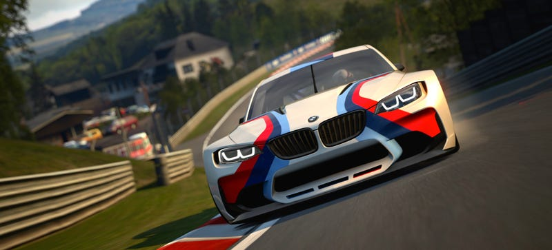 Illustration for article titled BMW Vision Gran Turismo Is A Badass Virtual Racer That Needs To Be Real