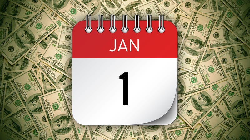 Illustration for article titled The Financial Moves You Should Make in January