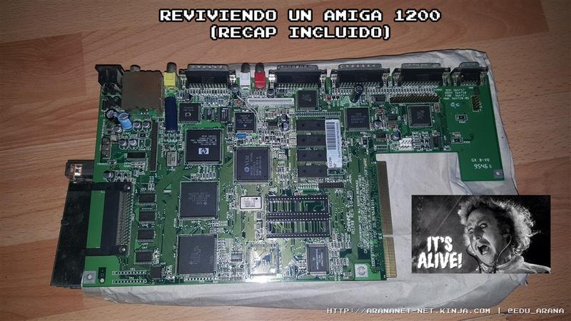 Illustration for article titled REVIVIENDO UN AMIGA 1200 (recap incluido)