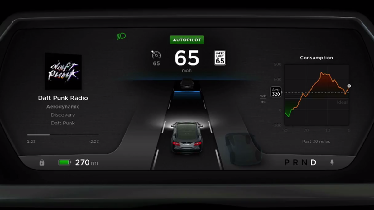 The Tech That Drives New Tesla Model S Explained 2015 Dodge Challenger Wiring Diagram Camera