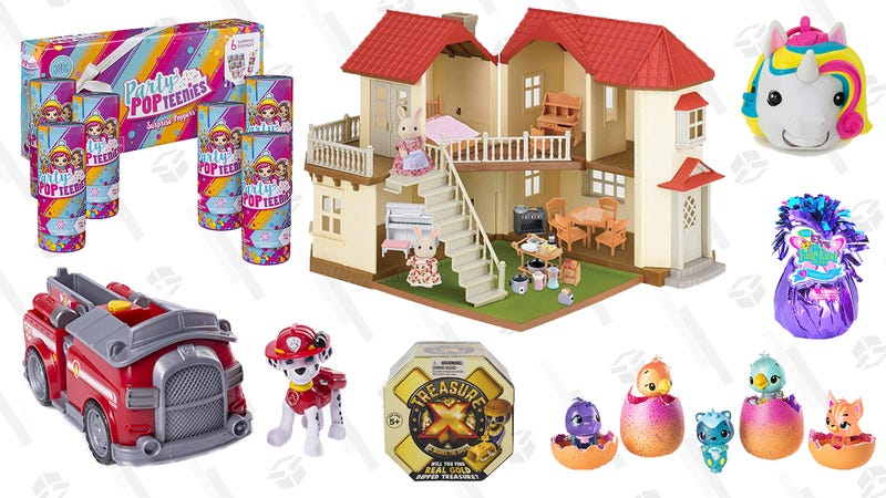 Collectible Toys Gold Box