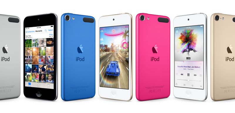 Illustration for article titled iPods Still Exist and Apple Just Upgraded Them All