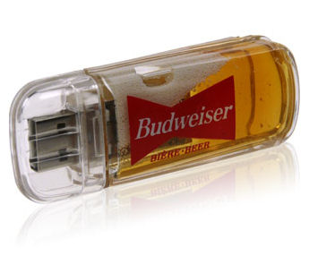 Illustration for article titled Beer-Filled USB Drive Raises Disturbing Questions