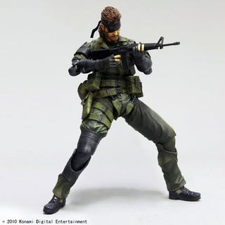Illustration for article titled Another Square Enix x Metal Gear Solid Action Figure