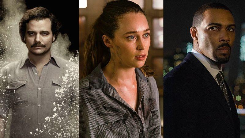 Wagner Moura, Alicia Debnam-Carey, Omari Hardwick (Images: Netflix, AMC, Starz)