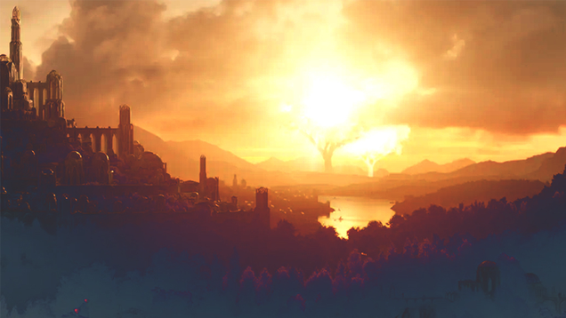 Why the Glowing Trees in Amazon s Lord of the Rings Are So Important