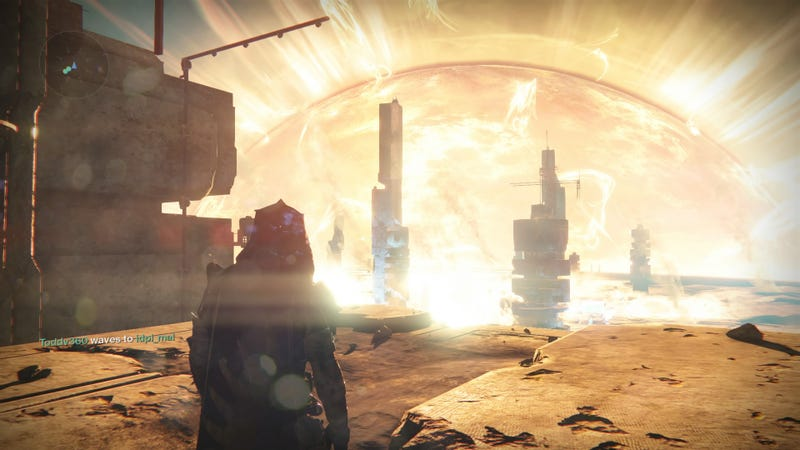 The Lighthouse on Mercury, in Destiny 1. Screenshot by Kirk Hamilton