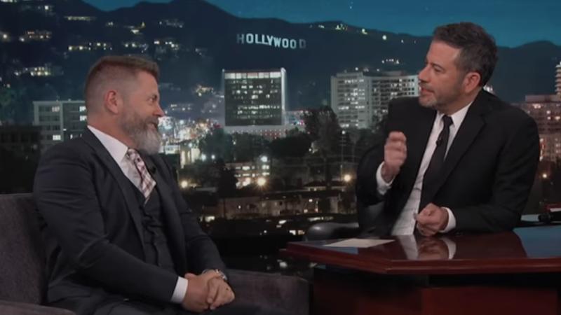 Nick Offerman, Jimmy Kimmel