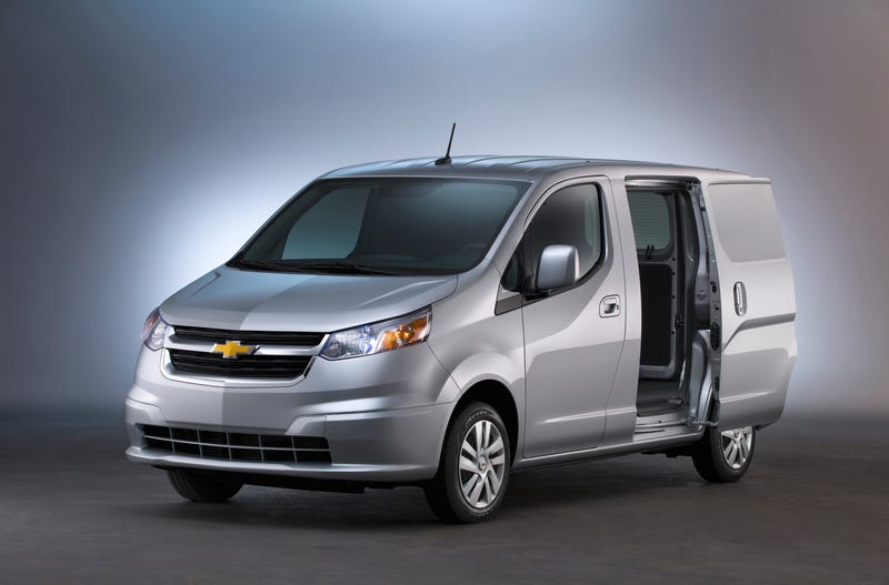 Illustration for article titled The Chevy City Express Is Here To Carry Your Packages And Drunk Asses