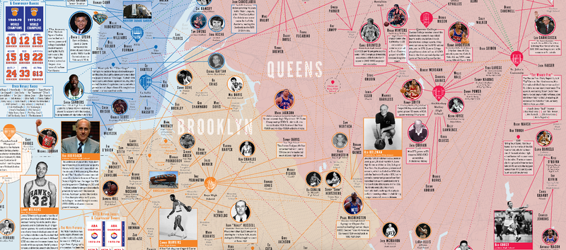 Illustration for article titled Spend A Whole Mess Of Time With This Great Map Of NYC Basketball