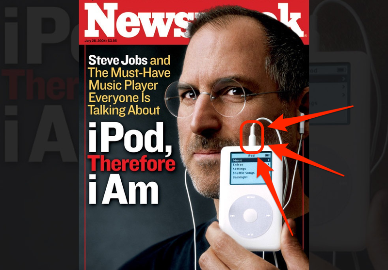 Illustration for article titled Steve Jobs Loved The Headphone Jack