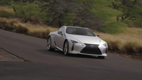 The 2018 Lexus Lc 500 Is A V8 Spaceship That Doesn T Care About
