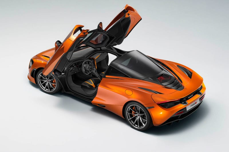 Illustration for article titled Here Is The McLaren 720S Way Before You're Supposed To See It