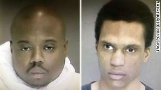 James White and Justin Mann (Troy, N.Y., Police Department)