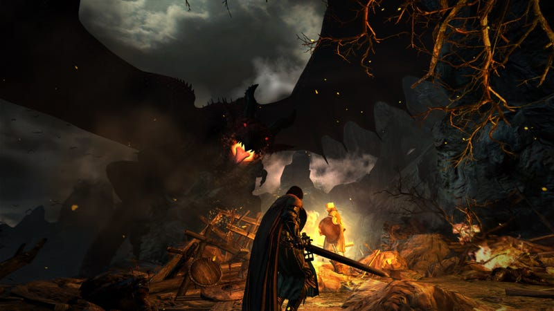 Illustration for article titled Reminder: Dragon's Dogma's Ending Is Completely Ridiculous