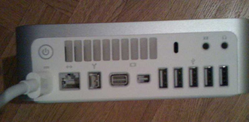 Illustration for article titled Supposed Mac Mini 2009 Spy Shot Shows So Many USB Ports