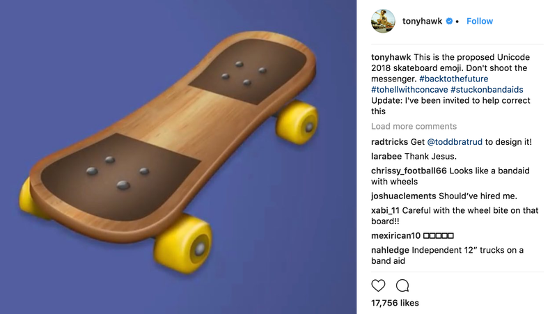 Screenshot: Instagram/Tony Hawk