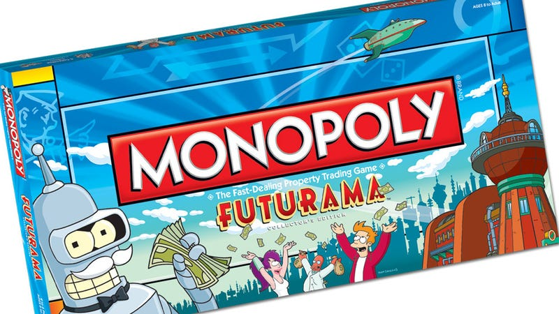 Illustration for article titled Futurama Monopoly lets you own Robot Hell