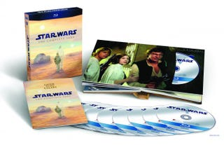 Illustration for article titled The Star Wars Blu-ray set gets 3.5 out of 5