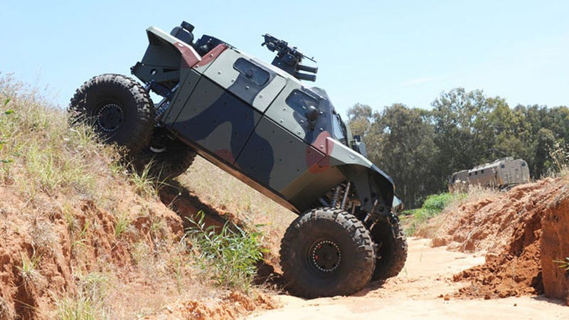 Illustration for article titled This Armored 4x4 Is a Warthog for the Modern Day Super Soldier